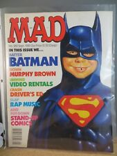 Vintage Mad Magazine Full Issue 289 September 1989 Batman Cover Mad-18