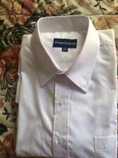 Prosper Exclusive Men's dress shirt  white Long Sleeve  sz 17 36/37 New No Tags