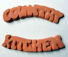 TERRACOTTA SIGNS - COUNTRY and KITCHEN