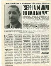 SEPPI A 14 ANNI CHE ERA MIO PAPA - GEROLAMO GASLINI - CLIPPING
