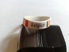 bracelet Belgique,Belgium en silicone