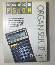 Psion Organiser II Models L & LZ64 Operating Manual