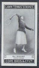 COPE COPES-LAWN TENNIS STROKES-#29- MRS MALLORY
