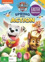 Paw Patrol - Spring Into Action (DVD, 2017) NEW