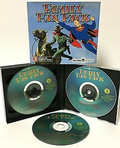 Radio Spirits Family Fun Pack 3 Disc CD - Superman, Lone Ranger, Archie Andrews