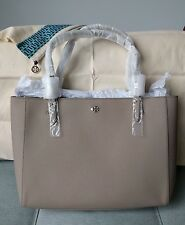 NEW Sold Out TORY BURCH YORK BUCKLE TOTE w Dust bag – FRENCH GRAY