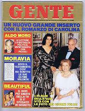GENTE N. 44, 1990 – Richard Gere, Serena Grandi, Top model,Calze Collant Donna