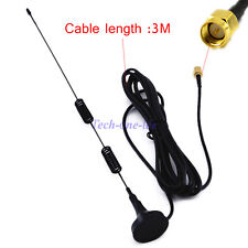 3.5db 4G SMA Antenna LTE Male Plug Cable WLAN Signal Booster 3M Magnetic 9.84ft