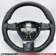 Tuning Abgeflacht Schwarz Lenkrad VW TOURAN TIGUAN CADDY 1T0419091AC