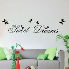 DIY Home Exquisit   Mural  Arts  Poster Sweet Dreams Wall Stickers Bedroom Decor