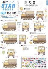 Star Decals 1/35 R.S.O./01 RAUPENSCHLEPPER OST German WWII Truck