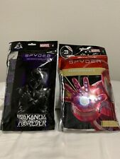 LOT Spyder Marvel Black Panther & Iron Man  Performance Boxer Briefs SZ Medium