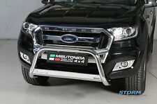 FORD Ranger T6 2012-2019 MACH ANTERIORE BARRA, bull bar, spingere BAR approvati UE 63mm