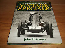 Book. The Enthusiast's Guide to Vintage Specials. John Bateman. 1st 1994 HB