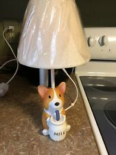 Pembroke Welsh Corgi Dog Lamp- Kids Or Adults