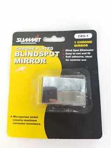 SUMMIT BLIND SPOT RECTANGULAR MIRROR CHROME PLATED FOR CARS & VANS