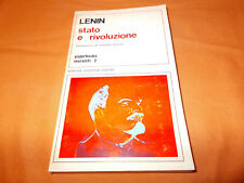 lenin stato e rivoluzione introduzione di cerroni newton compton 1975 br. cucita
