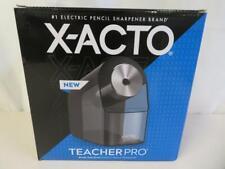 X Acto Pencil Sharpener Teacher Pro Electric Break Resistant Auto Adjusting
