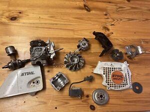 Motorsäge Kettensäge Stihl MS 211 181 171 Bastler Ersatzteile Nicht Komplett