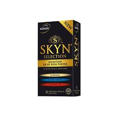 Pharmacie Intime Préservatifs Skyn Selection par 9 - MANIX