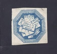 US Local stamp, Hale & Co., 75L1, replica