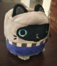 Cat Soft Toy Plush Stuffed Animal Kitten Gift Cute Pet Doll Blue Ash Kids Pencil