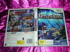 BATTLE OF THE BANDS : (NINTENDO WII GAME, G)
