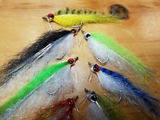 E P Bait fish, E P Style Minnow, Saltwater Streamer Fly, Closeout