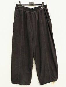 D'celli Hose Trousers Pantalon 10% Leinen Linen M 40 42 Lagenlook