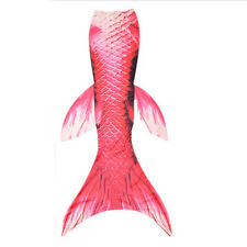 Kids Mermaid Tail Swimming Swimmable Wear Fishtail With (Non) Mono fin Flippers