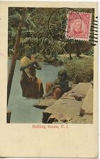 Postcard - PHILIPPINES / BATHING SCENE P.I. / CENSURED CENSURE CENSOR + CACHET