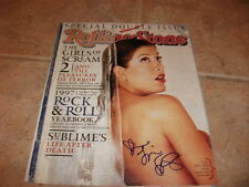Tori Spelling Signed Autographed Rolling Stone Magazine Cover Photo F8
