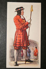 Yeomen of the Guard  British Army 1685   1930's Vintage Uniform Card  VGC