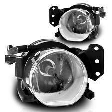 04-08 BMW E60 5 Series Fog Lights Clear Pair Set