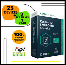 Kaspersky Small Office Security 7 2020 - 25 Device 3 File Sever | 1 Year GLOBAL