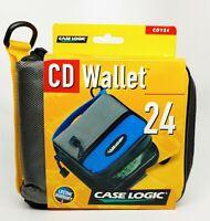 Case Logic CD Wallet - Model No. CDY24 Capacity Heavy Duty CD Wallet with Zipper