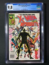 X-Men and the Micronauts #1 CGC 9.8 (1984) - RARE Newsstand Edition