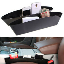 Car Seat Slit Pocket Catcher Storage Pouch Bag Box Phone Holder Side Organizer