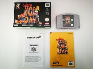 Conker's Bad Fur Day - Rare - Nintendo 64 - N64 - original - PAL - EUR