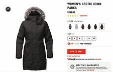 NEW NORTH FACE WOMEN'S ARCTIC DOWN PARKA BLACK
