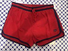 Costume Boxer ARENA Mare Piscina Fundamentals - Rosso Blu - 40519