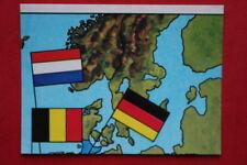 Panini EUROPA 80 n. 2 MAP WITH BLACK BACK VERY GOOD!!