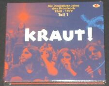 KRAUT! part 1 EU 2-CD + 100 page book BEAR FAMILY eloy NEKTAR michael rother