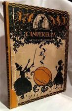 1919 CINDERELLA C.S. EVANS ARTHUR RACKHAM ILLUSTRATED CHILDRENS BOOK FIRST ED