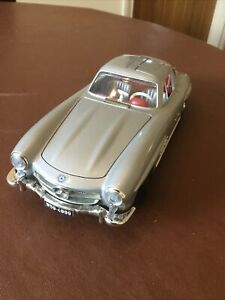Mercedes 300SL 1954 1:18 Burago Silver Unboxed