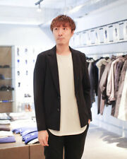 Kazuyuki Kumagai Attachment   Black Tricot Packable Blazer