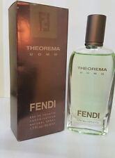 THEOREMA UOMO 1.7/1.6 OZ EDT SPRAY FOR MEN BY FENDI NEW IN OLD BOX