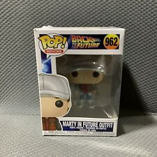 Back To The Future Marty McFly In The Future #962 Funko Pop Good Condition