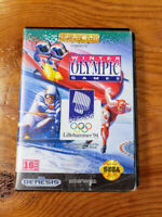 Winter Olympic Games Lillehammer '94 - (Sega Genesis, 1993) - Cleaned and tested
