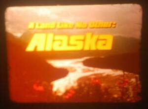 Alaska: A Land Like No Other - 16mm Sound Cine - Tourism & Travel Film - 1978